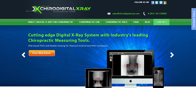 Chiro Digital X-Ray