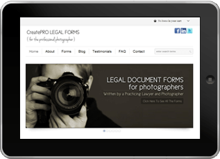 Photography Legal Forms